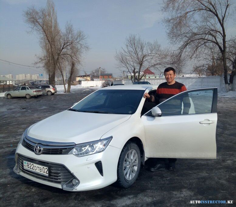 Максим - Toyota Camry 55